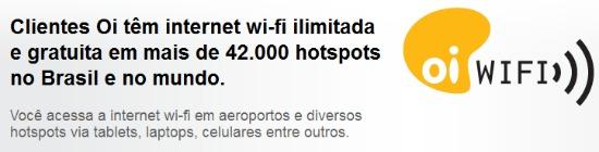 Wi-Fi ilimitado