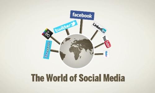 mundo das mídias sociais