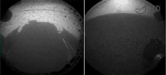 Curiosity em Marte